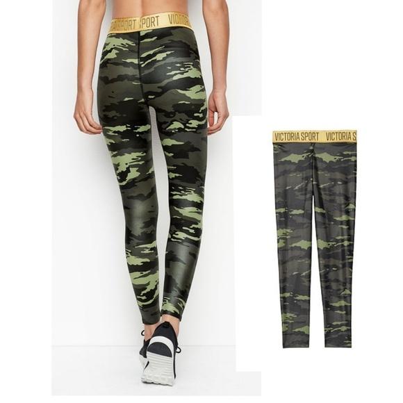 24aa140cf52373 Victoria's Secret Pants | Nwt Vs 78 Camo Tight | Poshmark